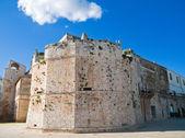 Castillo de conversano. apulia. — Foto de Stock