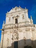 St. Martin Cathedral. Martina Franca. Apulia. — Stock Photo