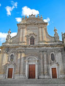Monopoli Cathedral. Apulia. — Stock Photo