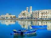 Landscape view of Molfetta. Apulia. — Stock Photo