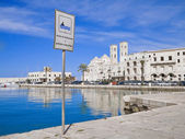 Molfetta Seaport. Apulia. — Stock Photo