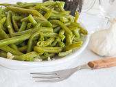 Green beans salad. — Stock Photo