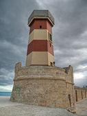 Lighthouse seaport of Monopoli. Apulia. — Stock Photo
