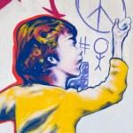 Graffiti on the wall. — Stock Photo