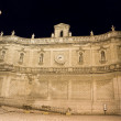 Sustaining Wall of Monopoli by night. Apulia. — Stock Photo