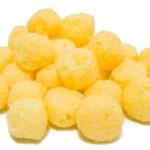 Cheese Puff Balls. — Stock Photo