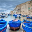 Old port of Monopoli. Apulia. — Stock Photo