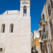 Stock Photo: Alley in Oldtown of Trani. Apulia.