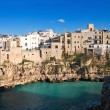 Landscape view of Polignano Mare. Apulia. — Stock Photo #3039245