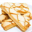 Frosted Puff Pastry. — Stock Photo
