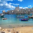 Panoramic view of Giovinazzo. Apulia. — Stock Photo