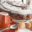 Chocolate Cake with nuts. — Stock Photo #3039714