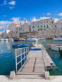 Paisagem vista de giovinazzo. Puglia. — Fotografia Stock