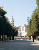 Public park. Trani. Apulia. — Stock Photo
