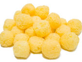Cheese Puff Balls. — Stock Photo