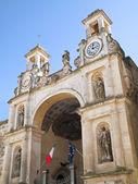 Het sedile paleis. matera. basilicata. — Stockfoto