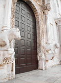 St. Nicholas Basilica. Bari. Apulia. — Stock Photo