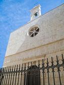 St. Andrea Church. Molfetta. Apulia. — Stock Photo