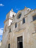 Church of St. Pietro Caveoso. Sassi of Matera. — Stock Photo