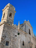 St. Salvatore Church. Monopoli. Apulia. — Stock Photo