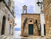 St. Stefano Church. Polignano a Mare. Apulia. — Stock Photo