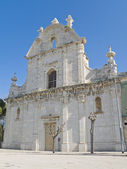 St. Domenico Church. Trani. Apulia. — Stock Photo