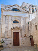 St. John the Baptist Church.Giovinazzo. Apulia. — Stock Photo