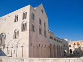 The Basilica of Saint Nicholas. Bari. Apulia. — Foto Stock