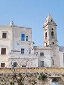 Ancient walls. Bari. Apulia. — Stock Photo