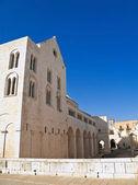 St.nicholas basiliek. bari. apulië. — Stockfoto