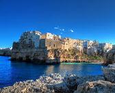 Landscape view of Polignano a Mare. Apulia. — Stock Photo