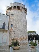 孔韦尔萨诺城堡。阿普利亚. — 图库照片
