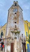 Monopoli Clocktower. Apulia. — Stock Photo