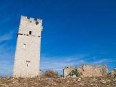 Terk edilmiş tower.giovinazzo. apulia. — Stok fotoğraf