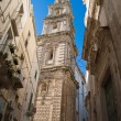 Stock Photo: Belltower Cathedral. Monopoli. Apulia.