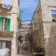 alley in oldtown of molfetta. apulia. — Stock Photo