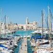 Touristic Port of Trani. Apulia. — Foto de Stock