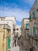 Alley in Oldtown of Molfetta. Apulia. — Stock Photo