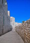 Alley of Giovinazzo. Apulia. — Stock Photo