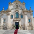 Matera Church. Basilicata. — Stock Photo