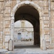 Arch in Giovinazzo Oldtown. Apulia. — Stock Photo