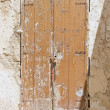 Derelict wooden door. — Stock Photo #3064340