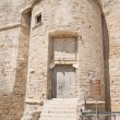 Carlo V Castle. Monopoli. Basilicata. - Stock Photo