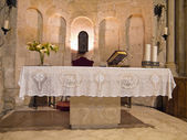 St. John The Baptist altar. Matera. — Stock Photo