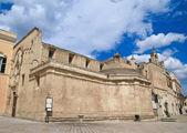 St. Domenico church. Matera. Apulia. — Stock Photo
