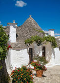 Trulli of Alberobello. — Stock Photo