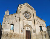 Cathedral of Matera. Basilicata. — Foto Stock