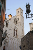 View of Giovinazzo Cathedral. Apulia. — Stock Photo