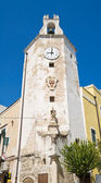 Monopoli Clocktower. Apulia. — Stock Photo