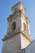 Madonna di Loreto Belltower. Apulia. — Stock Photo